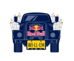 Red Bull event car Willem