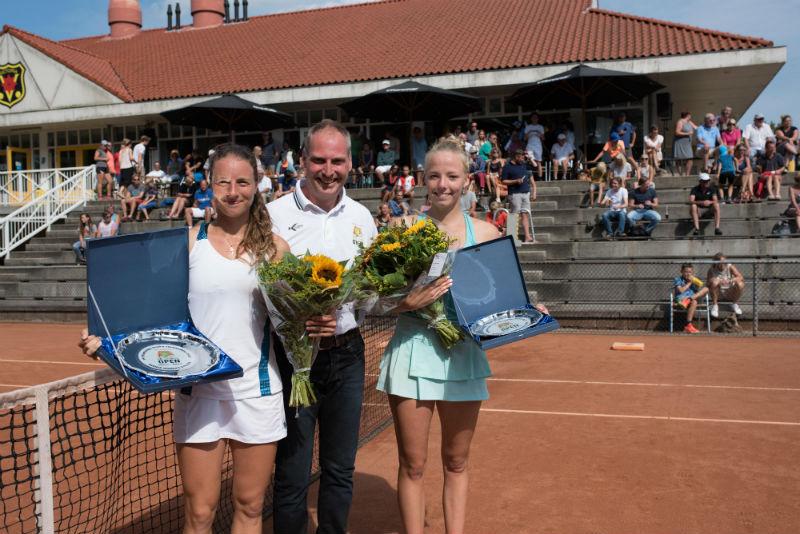 Karen Barritza winnares Rotterdam Open 2017, Tayisiya Morderger tweede plaats