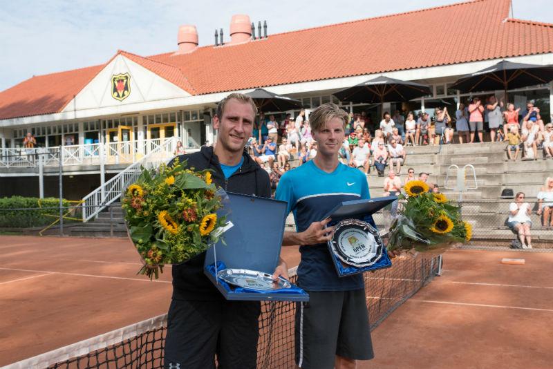 Thiemo de Bakker winnaar Rotterdam Open 2017, Gijs Brouwer tweede plaats