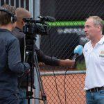 Interview RTV Rijnmond met toernooidirecteur Raymond Schot