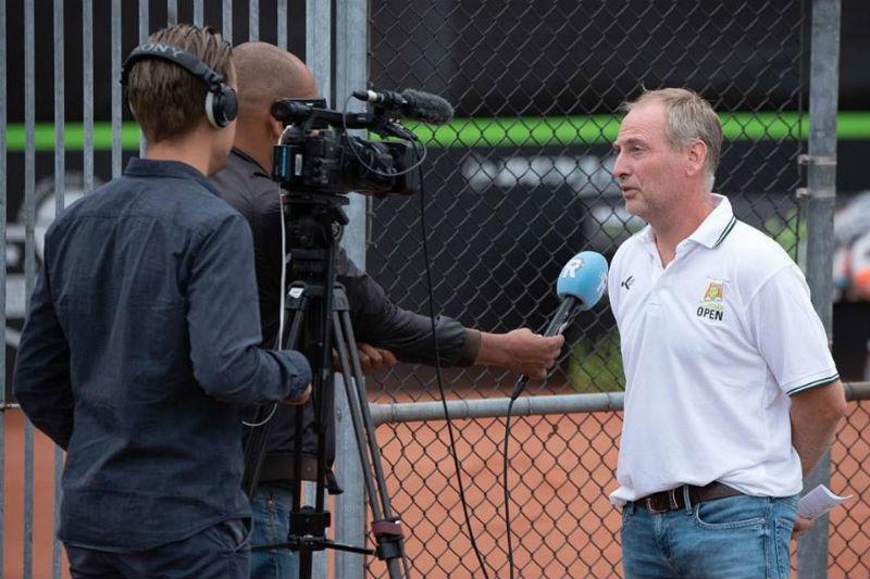 toernooidirecteur Raymond Schot