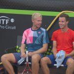 Tennistalenten Borg en Gerritsen winnen op Rotterdam Open: 'Willen de top-100 halen'
