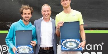 Toernooiwinnaars Rotterdam Open 2018
